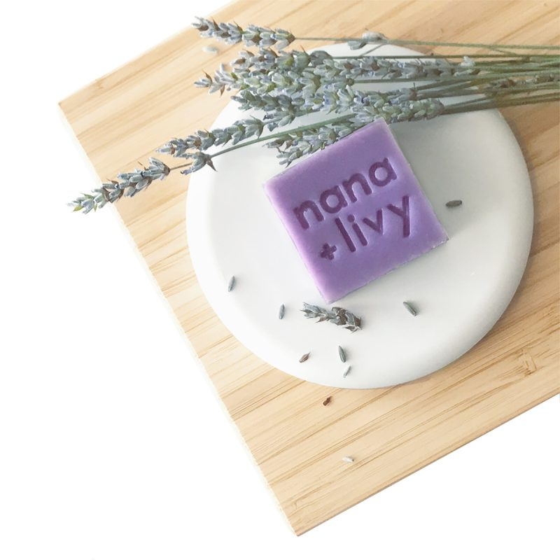 Lavender Soap Block