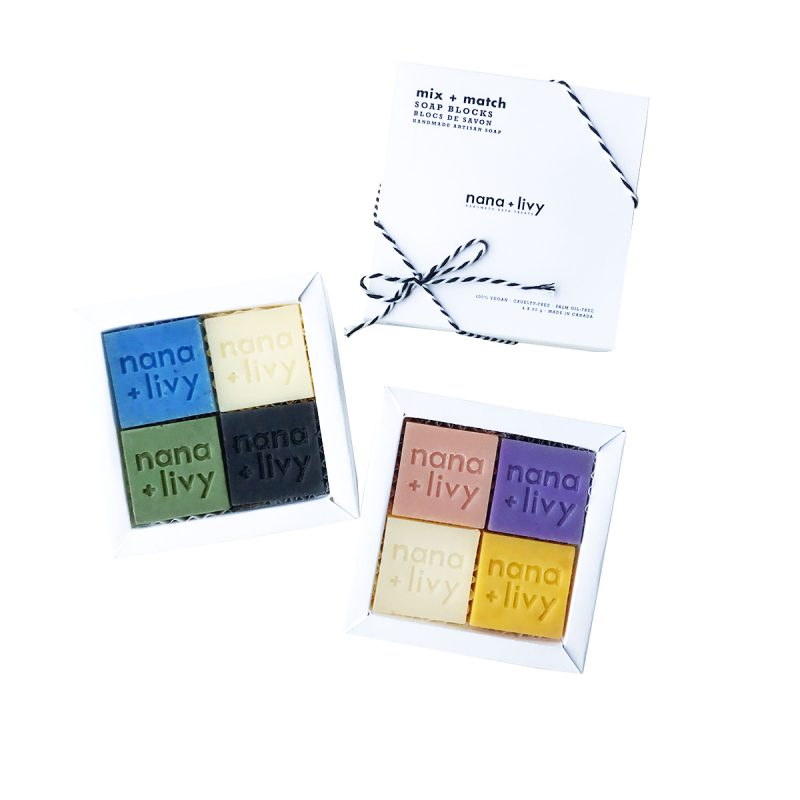 Mix + Match Soap Blocks