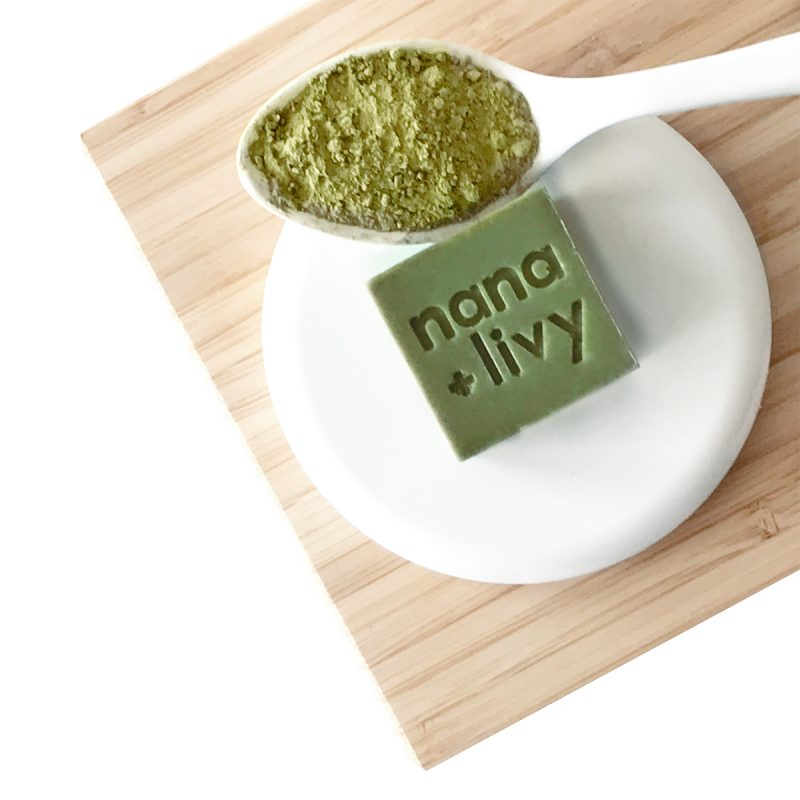 Matcha Soap Block