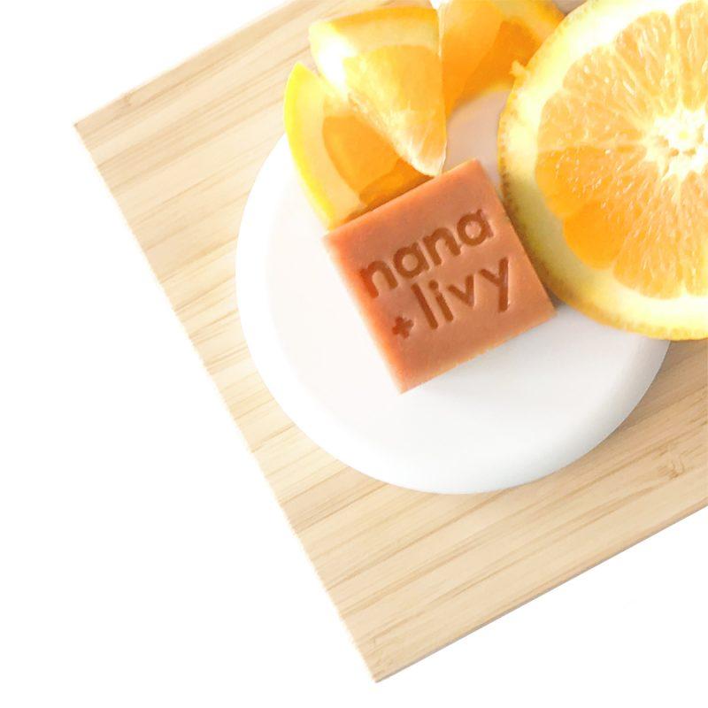 Orange Soap Block