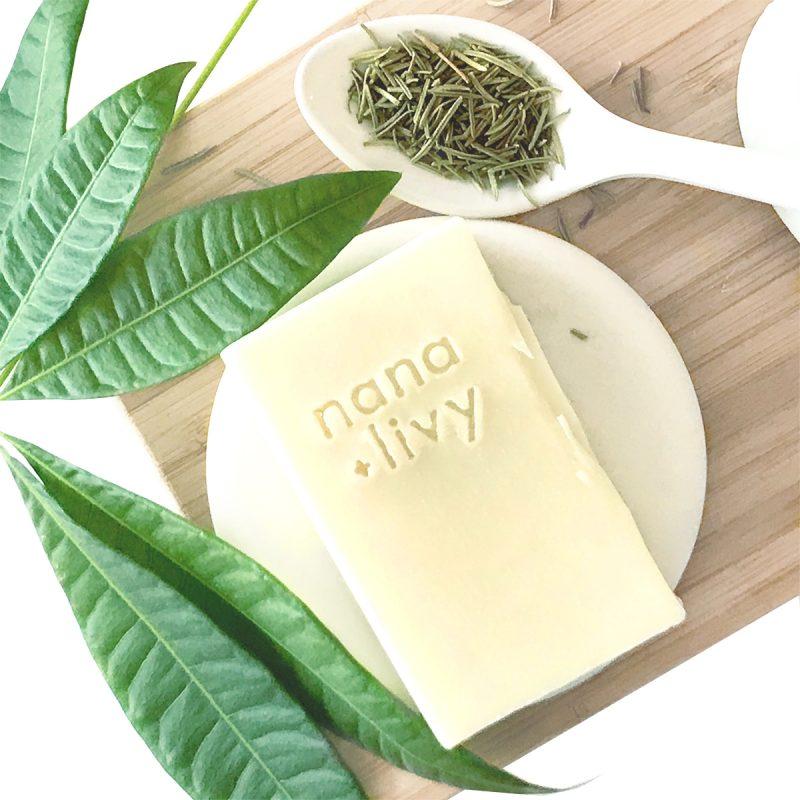 Rosemary + Tea Tree Shampoo Bar