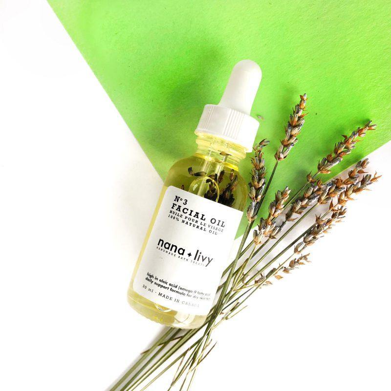 No. 3 Facial Oil for Dry Skin