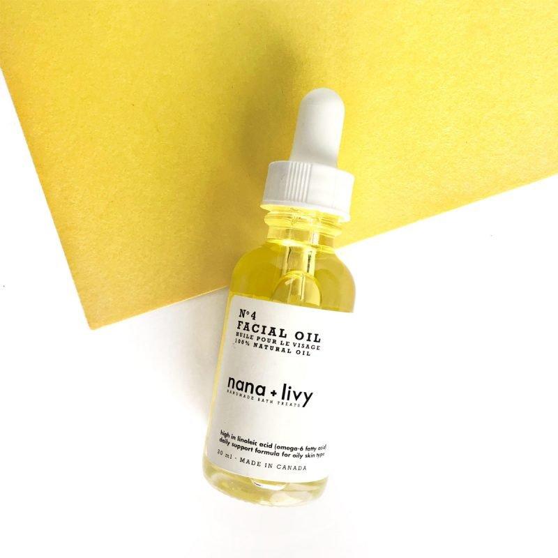No. 4 Facial Oil for Oily Skin